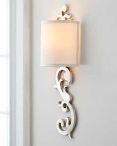 """""""Romeo"""" Wall Sconce at Horchow."""