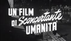Stüf Stuff • Trailer titles for La Notte (1961)