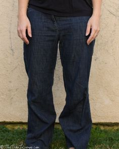 Taking in pants
