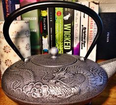 Teapots we adore at tealovey on pinterest 29 pins - Imperial dragon cast iron teapot ...