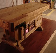 Workbench - Reader's Gallery - Fine Woodworking Awesome Lon Scheiliing style