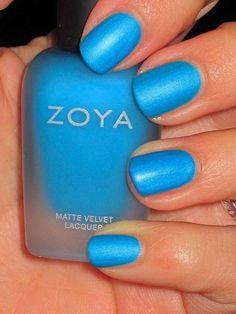 Zoya Mattee Nails | See more nail designs at http://www.nailsss.com/nail-styles-2014/