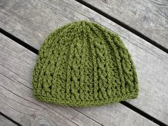 Crocheting: Double Helix Beanie