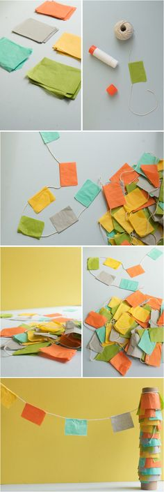 simple no-sew bunting