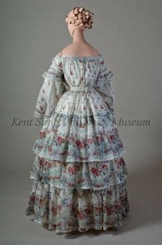 In the Swan's Shadow: Afternoon dress, American, about 1853