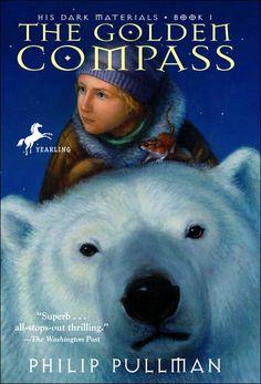 The Golden Compass, Philip Pullman.