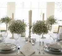 babies breath, bouquet, wine glass, wedding flowers, flower ideas, candl, table centerpieces, wedding centerpieces, babi breath