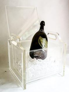 c1940s Lucite Deco Wine Cooler