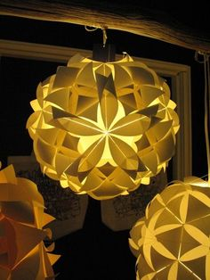cool origami lantern