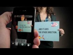 Description Instantly translate printed words with your phone's camera! Word Lens gives you translation on the go: