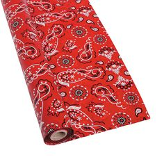 Bandana Tablecloth Roll - OrientalTrading.com