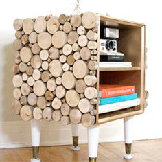 Make your own unique side table!