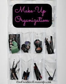 One Creative Housewife: Make-Up Organization
