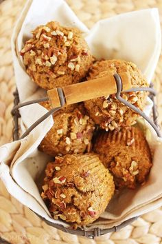 The Comfort of Cooking » Super Soft 100% Whole Wheat Apple-Pumpkin Muffins