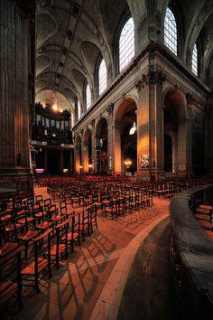 Église St Sulpice, Paris