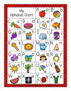 Alphabet printables for kindergarten
