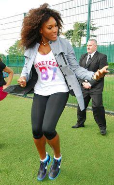 Tennis Pro Serena Williams.  #teamnike #nike #athlete