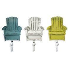 Beach Chair Sculpted Resin Hooks