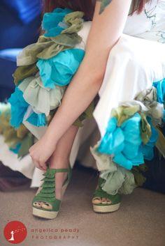 Wai-ching mermaid-y dress
