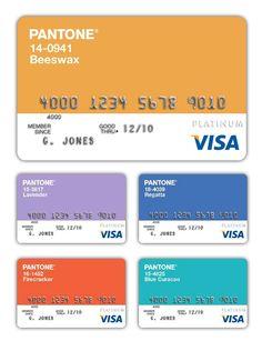 Visa Pantone