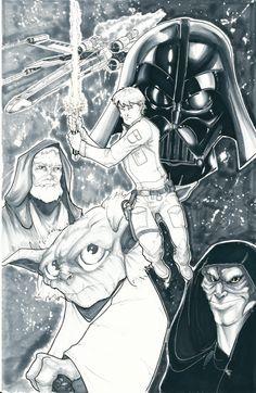 Star Wars by Brian Vander