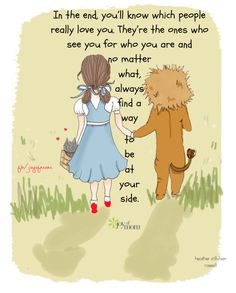 In the end, you'll know which people really love you. They're the ones who see you for who you are and no matter what, always find a way to be at your side. More fantastic quotes on Joy of Mom! <3 www.facebook.com/joyofmom  #quotes #family #children #friendship #love #inspiration #joyofmom