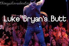 Luke Bryans butt <3