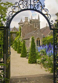 Hanham Court Gardens- Summer by iandjbannerman, via Flickr