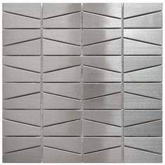 Stainless Steel Tile-Modern Trapezoid Stainless Steel Tile