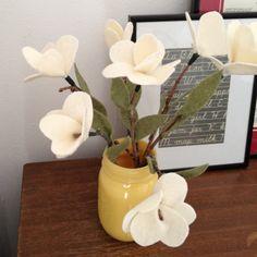 Mother's Day #DIY Felt Flowers