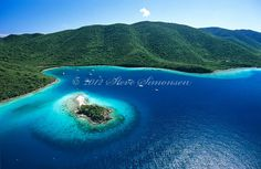 Leinster Bay and Waterlemon Cay  Virgin Islands National Park St. John, U.S. Virgin Islands