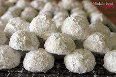 Pecan Balls (Mexican Wedding Cookies)