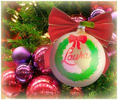 """""""Laura"""" Ornament / Christmas Ornament / Days of our Lives / #DAYS"""