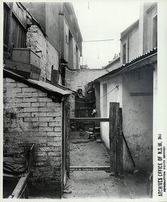 Rear of 93 Cumberland Street, The Rocks (NSW) Sydney Australia 1901