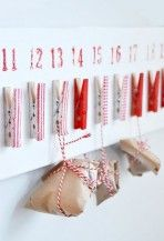christma diy, holiday, diy ideas, craft, peg idea, christma advent, calendar idea, nooks, christmas advent calendars
