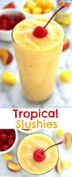 Tropical Slushies- S