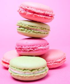 French macaron cookie