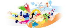 Nanoogo - students can create digital portfolios w/ educational portal