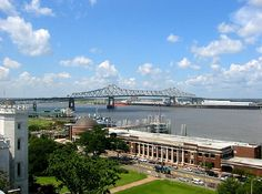 Baton Rouge, LA view from downtown