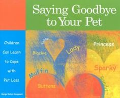 Simple text and blank spaces in which to add drawings teach children how to cope with the loss of a pet, including how to express their grief.