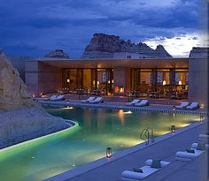 Amangiri Spa and Resort in Southern Utah