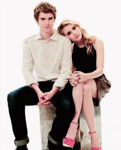 Freddie Highmore & Emma Roberts. I can't believe how grown up he is!