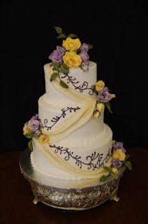 purple and yellow wedding ideas | Wedding Cakes Ideas: Best Purple Wedding Cakes Designs...  beautiful cake