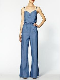 Love this romper. Hive & Honey Chambray Romper