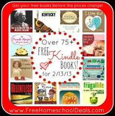 Free Kindle Books: Valentine's Day On A Dime, The Handbook of Vintage Remedies, History for Kids: The Illustrated Life of Mark Twain + More! free ebook, kindl ebook, free kindl, kid, ebook 21313
