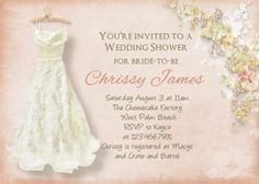 Unique Colorful Wedding Shower Invitations Idea from Kayce Bramble