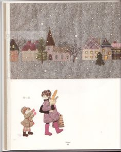 Gallery.ru / Фото #51 - 5 - OlgaHS ...... Winter - from 'Story Quilt' - Japanese appliqué book