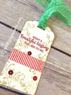 Stampin' Up!, tags,