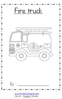 """""""Fire Truck"""" Emergent Reader"""