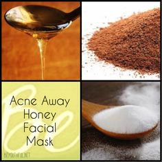 Pimple problems? Reduce redness with this acne away honey facial mask. Easy and effective. http://beyouthful.net/acne-away-honey-facial-mask/ #acneaway #facialmask #homemade #DIY #honey #honeymask #bakingsoda #cinnamon